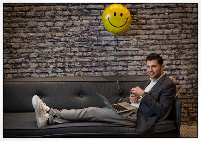 Arjen Banach, Chief Happiness Officer: ,,Niet iedereen is overtuigd van al dat gepraat over gelukkig zijn.''