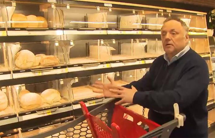 Marc van Ranst trok met VTM Nieuws naar de winkel en legt uit hoe je het risico op besmetting kan beperken