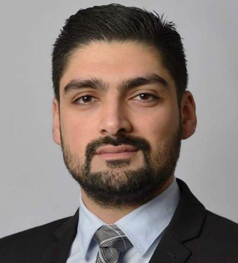 Nieuwkomer Numan Yilmaz (Denk) Beeld -