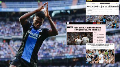 """Buitenlandse pers ziet Club Brugge Hazard en co de touwen injagen: """"Authentieke nachtmerrie voor Real"""""""