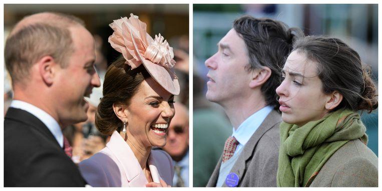 Het lijkt erop dat het huwelijk van Rose Hanbury (rechts, met echtgenoot David Rocksavage) voorbij is na haar vermeende affaire met prins William.