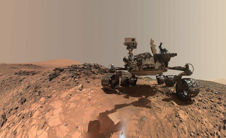 Vijf jaar geleden landde de Marsrover Curiosity op de Rode Planeet.