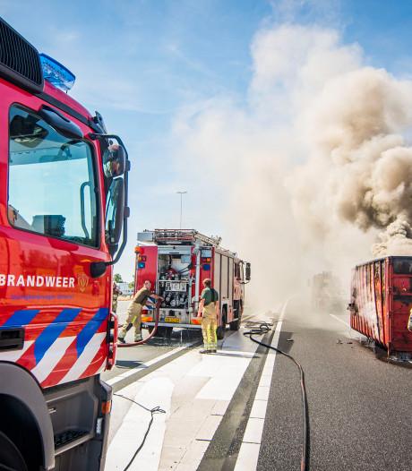 Utrechtse brandweer in 81% van de gevallen op tijd: vaker dan in 2016