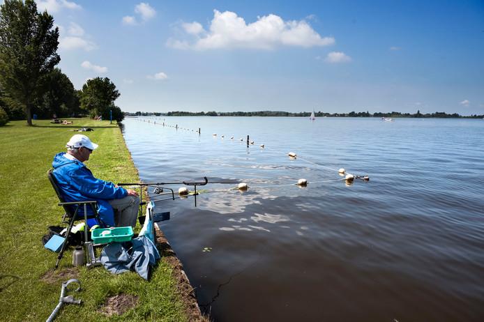 Stilte voor de storm: ondanks een negatief zwemadvies mag er komende week worden gezwommen in de Loosdrechtse Plassen.