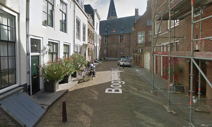 De Bogardstraat in Middelburg.