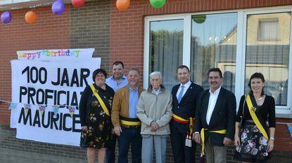 Groots straatfeest voor 100-jarige Maurice Baus