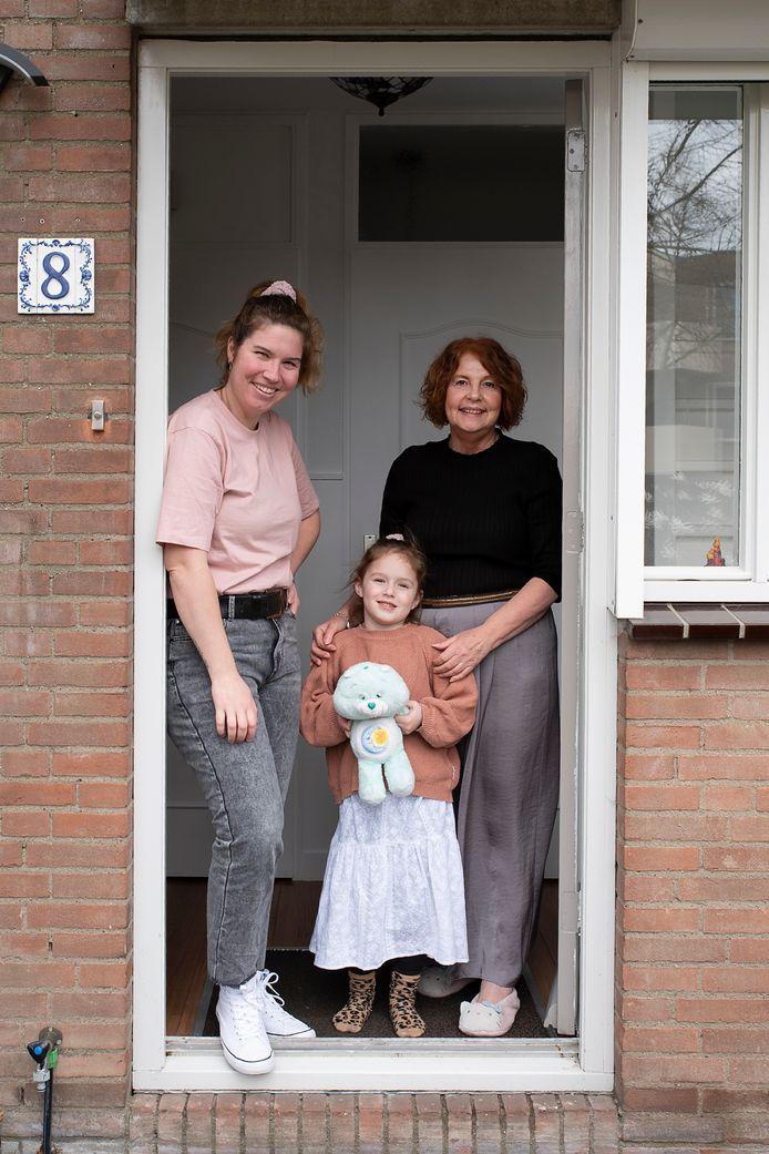 Bianca, Mila en Charissa Springvloed. #Wijzijnthuis