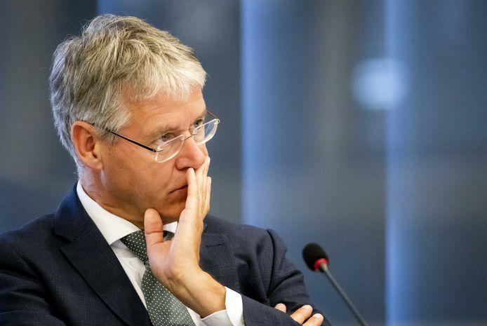 Minister Arie Slob voor Basis- en Voortgezet Onderwijs in de Tweede Kamer.