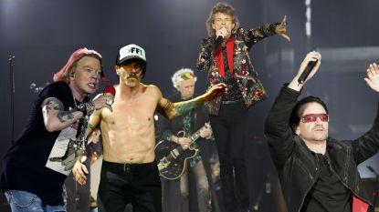 Van krasse knarren gesproken: deze rockbands hebben een gemiddelde leeftijd van meer dan 50 jaar