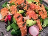 Sushi-salade