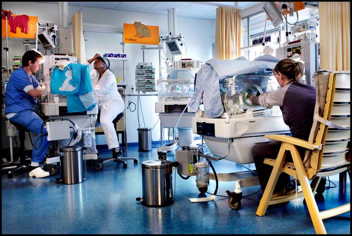 De afdeling neonatologie van het AMC in Amsterdam. Foto: Pim Ras