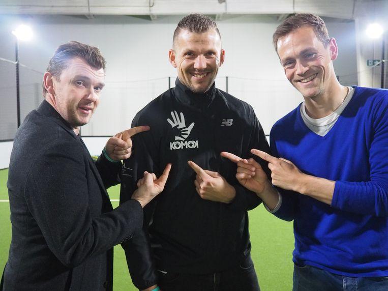 Christophe Stienlet, Davino Verhulst en Tom Desutter in Arenal in Mechelen