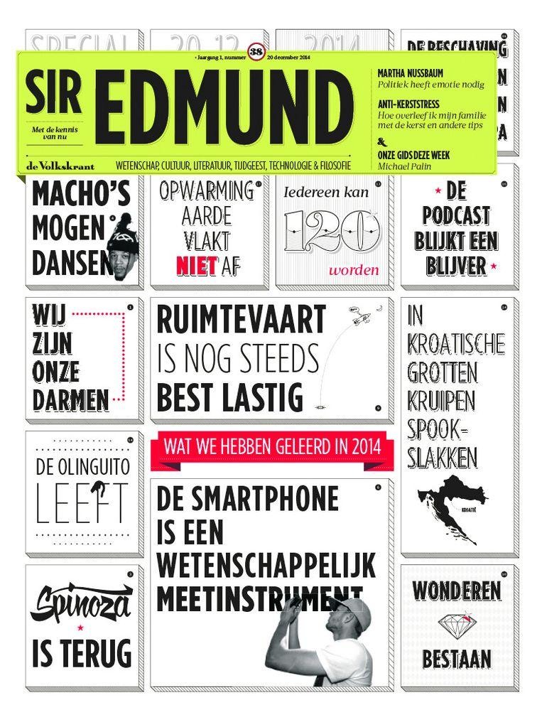 Sir Edmund Beeld De Volkskrant