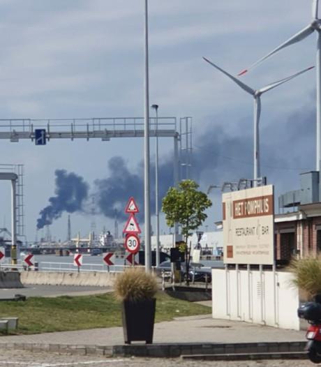 Fakkelen in haven veroorzaakt onrust: sp.a wil dat stad en haven vooraf communiceren