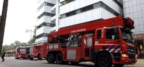 Kantoor Kadaster Apeldoorn ontruimd vanwege rook