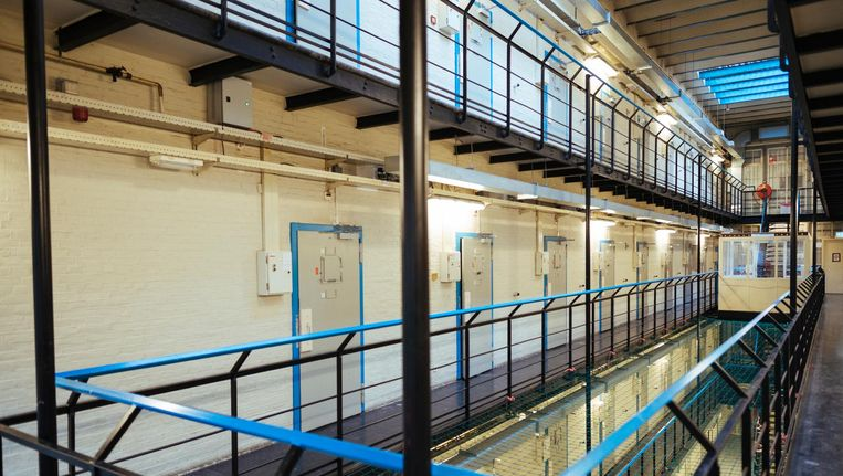 Interieur van de oude gevangenis Beeld Marc Driessen