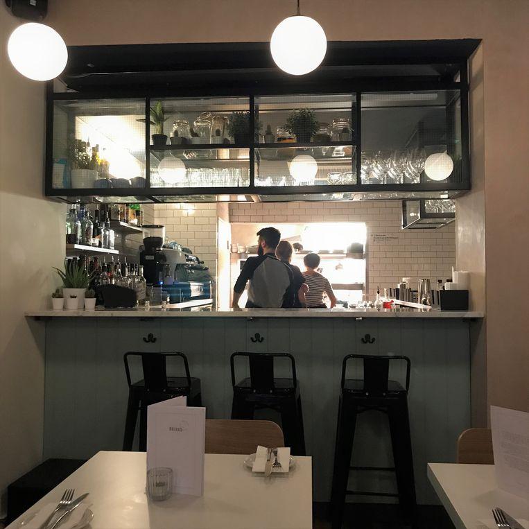'Er zijn in Liverpool zoveel hippe uitgaansgelegenheden gekomen.'  Zie hier het restaurant Maray in Liverpool.  Beeld Maray Liverpool
