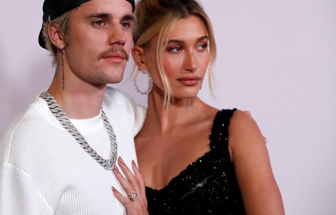 Bieber met zijn vrouw Hailey Baldwin.