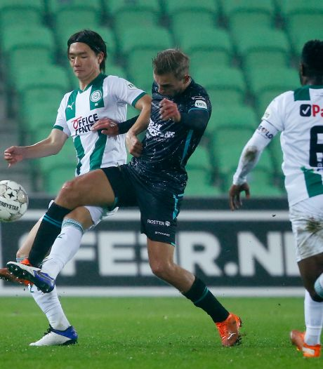 RKC berooft trainer FC Groningen wel van zijn stem, maar niet van de punten