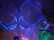 Weinig 'oh' en 'ah's' voor stuklopende laserstralen op kermis Uden