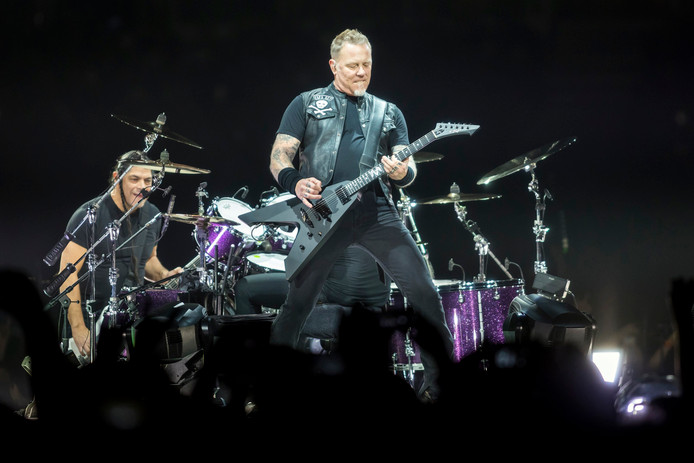 Amerikaans rockfenomeen Metallica speelt 11 juni 2019 in