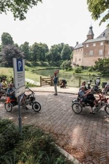 Eerst NK Wielrennen, nu op de duofiets door 's-Heerenberg