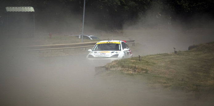Het Eurocircuit in Valkenswaard is al jaren de thuisbasis van de Nederlandse rallycross.