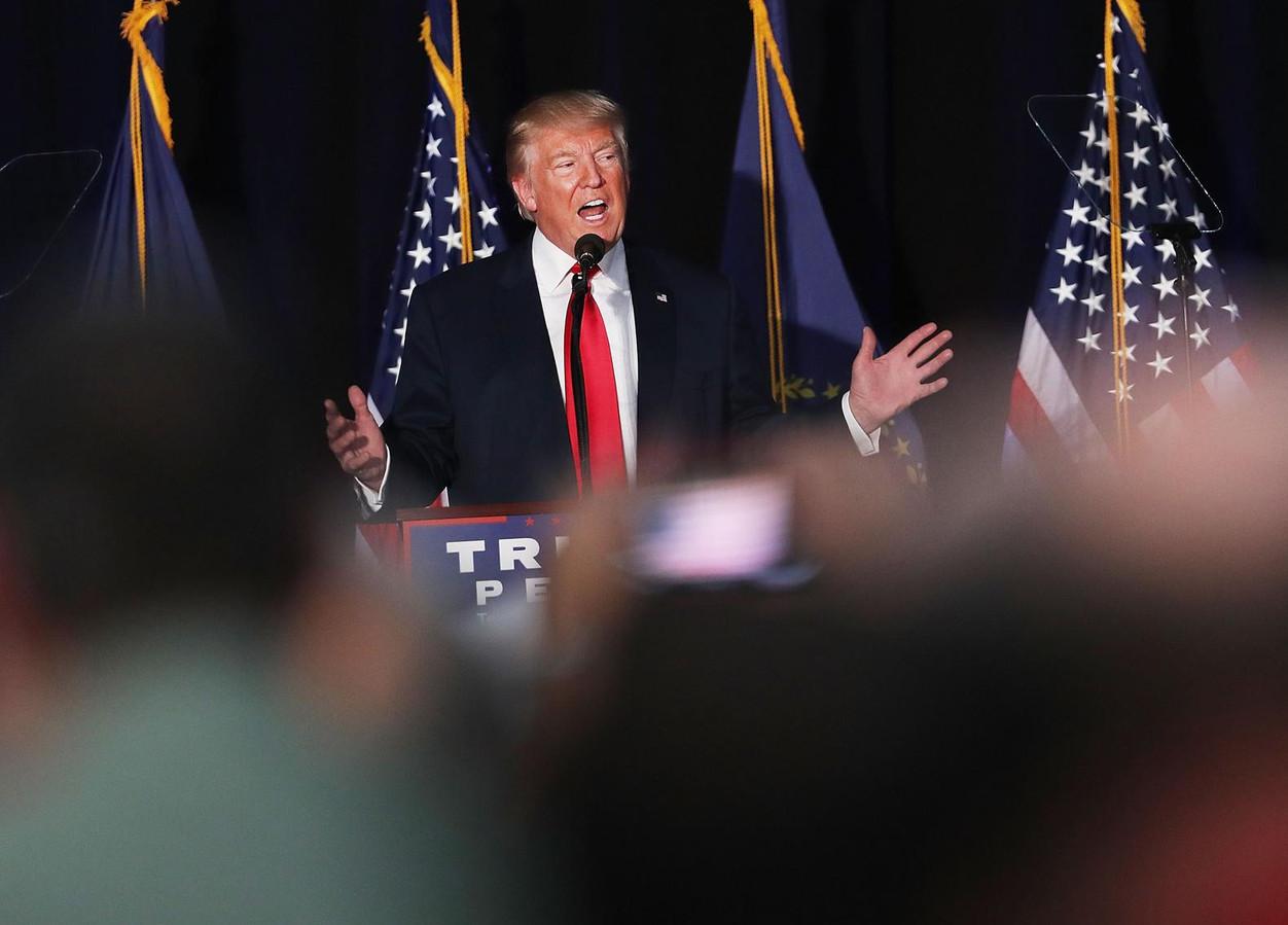 Trump gooit sekstape in verkiezingsstrijd | Foto | AD.nl