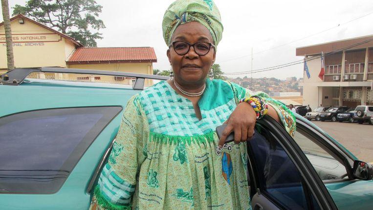 Kameroense lhbt-activist Alice Nkom Beeld afp