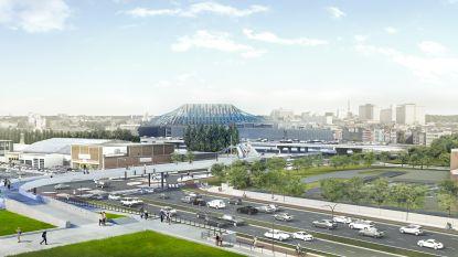 Wandelbrug voor bezoekers van Lotto Arena en Sportpaleis wordt dit weekend geplaatst