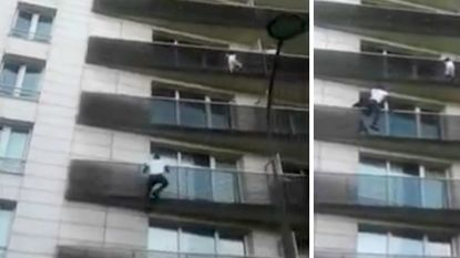 Franse justitie vervolgt papa van kindje dat gered werd van balkon