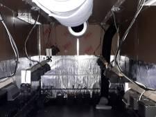 Hennepkwekerij ontdekt en ontmanteld in Waardenburg