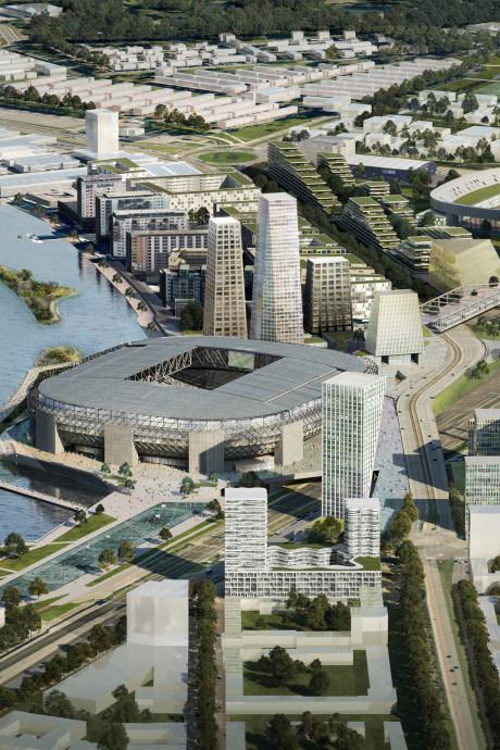 Plan Feyenoord City klaar: zo gaat nieuw stuk Zuid er uitzien