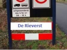 Staphorster dorp 'IJhorst' krijgt oorspronkelijke naam 'De Rieverst' terug