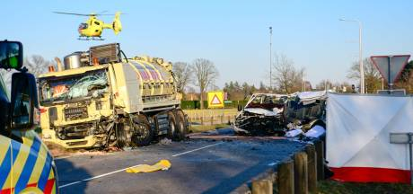 Vijf doden en vier zwaargewonden bij zeer ernstig ongeval in Helmond