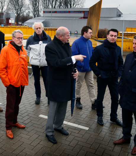Dranghekken om veilig je grofvuil weg te kunnen brengen in Hardinxveld-Giessendam