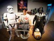 Slechtziende Star Wars-fan Jaap heeft slaapkamer vol science fiction