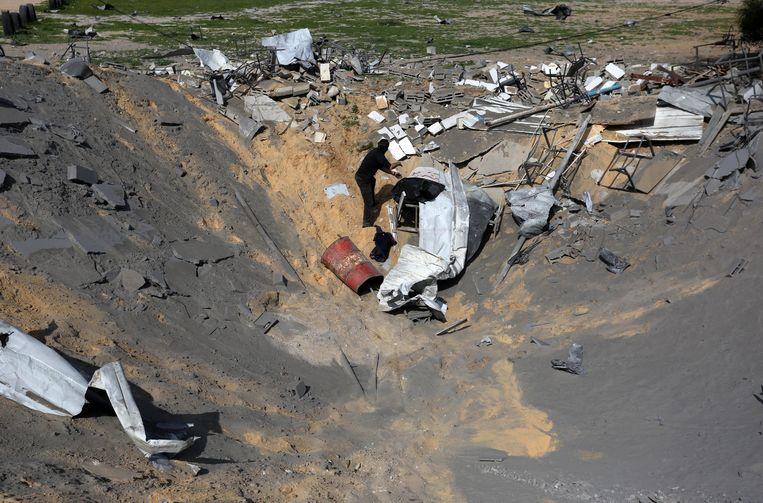 Beeld ter illustratie. Islamitische Jihad kondigt staakt-het-vuren af op Gazastrook.