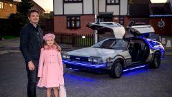 Wauw! James werkt 1.200 uur aan zijn DeLorean-replica uit Back To The Future