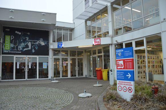 De Plomblom en bibliotheek in Ninove.