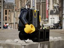 Lego-beeld André Hazes van Erps bedrijf al na zes dagen onthoofd: 'Ben er echt ziek van'