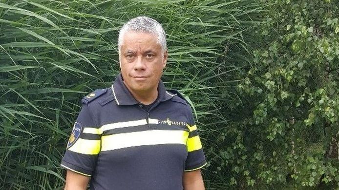 Joost Manusama, districtschef van de Politie Zeeland.