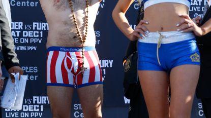 Officiële weging geeft opmerkelijk resultaat: Wilder liefst 20 kg lichter dan uitdager Fury