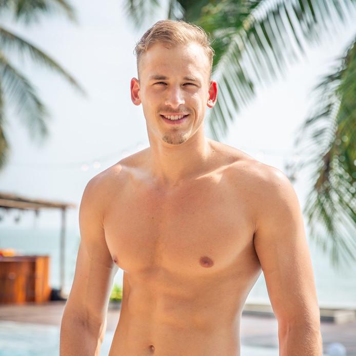 Daan (25) uit Eindhoven is in het nieuwe seizoen van Temptation Island te zien als verleider.