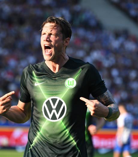 Scorende Weghorst wint met Wolfsburg, Redan maakt Bundesliga-debuut