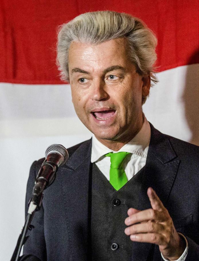 PVV-voorman Geert Wilders