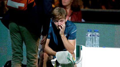 """David Goffin geeft forfait voor Indian Wells én de Davis Cup-kwartfinale: """"Zicht niet volledig hersteld"""""""