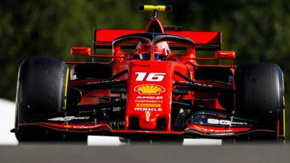 Leclerc troeft ploegmaat Vettel af in tweede oefensessie voor GP van België
