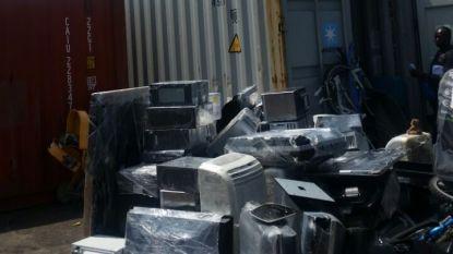 Belgisch elektronisch afval gedumpt in Nigeria