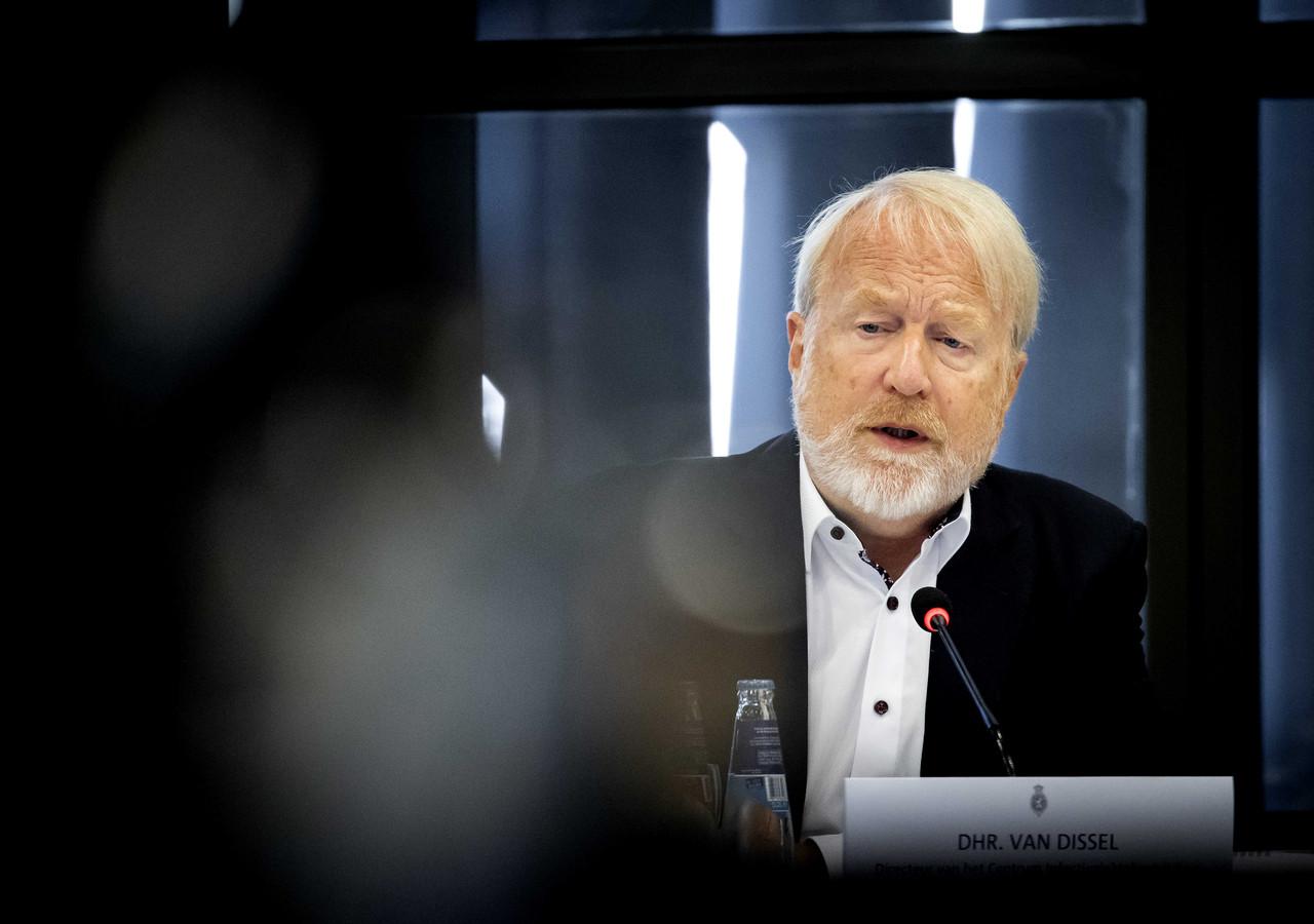 Jaap van Dissel, directeur RIVM tijdens een technische briefing in de Tweede Kamer over het coronavirus.